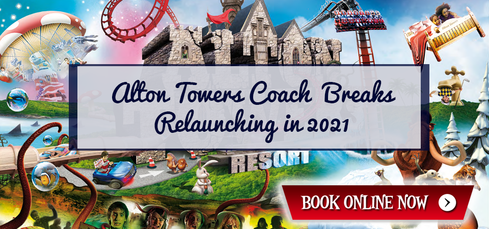 Alton Towers Coach Travel from Scotland