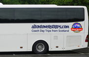Alton Towers Resort Coach Hire Scotland